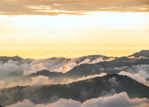 Andes, Bolivar Province, Ecuador, near the inactive stratovolcan Stock photo © xura