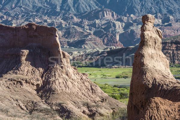 Quebrada de Cafayate, Salta, Argentina Stock photo © xura