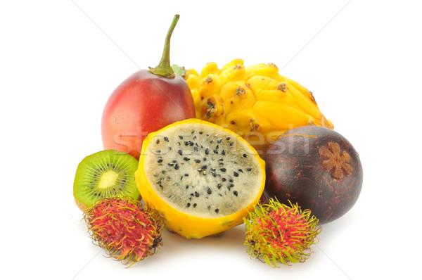 тропические плодов природы еды белый здорового Сток-фото © xura