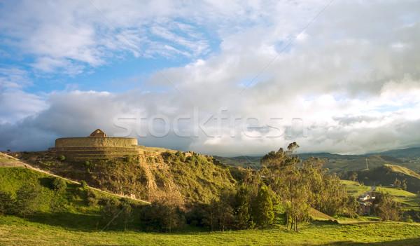 инка стены города Эквадор название Сток-фото © xura