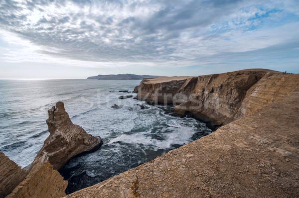 резерв регион Перу рок побережье Сток-фото © xura