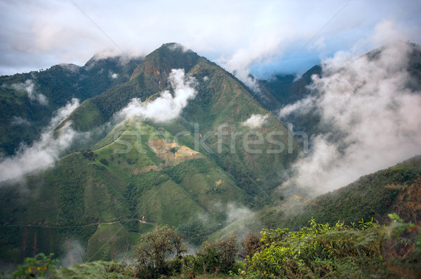 Andes, Bolivar Province, Ecuador Stock photo © xura