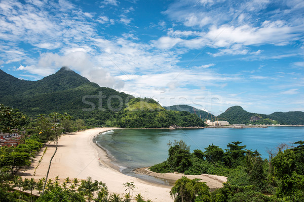 Beach near Angra Nuclear Power Plant, Central Nuclear Almirante  Stock photo © xura
