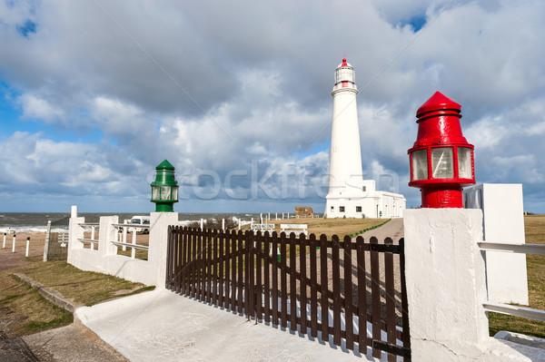La Paloma lighthouse Uruguay, 1874. Active. The area was declare Stock photo © xura