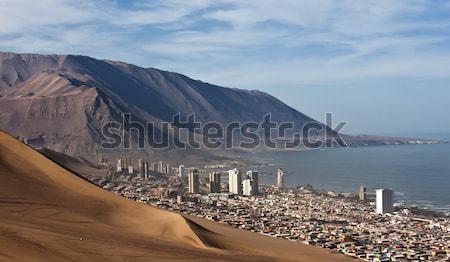 Atrás enorme duna norte Chile região Foto stock © xura