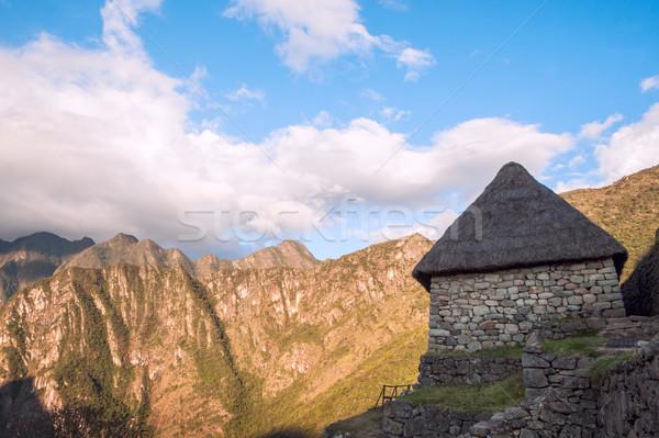 Machu Picchu, Peruvian Andes, Sacred Valley Stock photo © xura