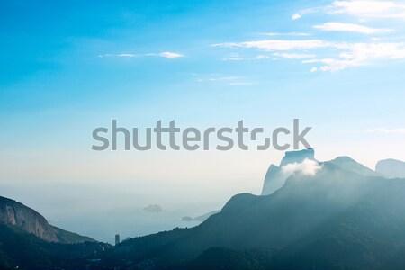 Сток-фото: Рио-де-Жанейро · мнение · город · пейзаж · улице · лет