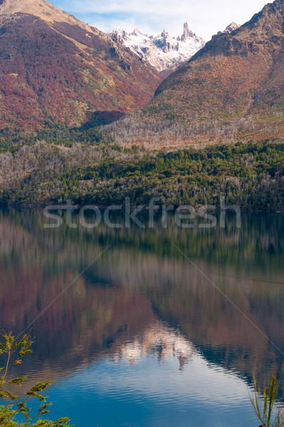 Outono cores lago natureza paisagem beleza Foto stock © xura