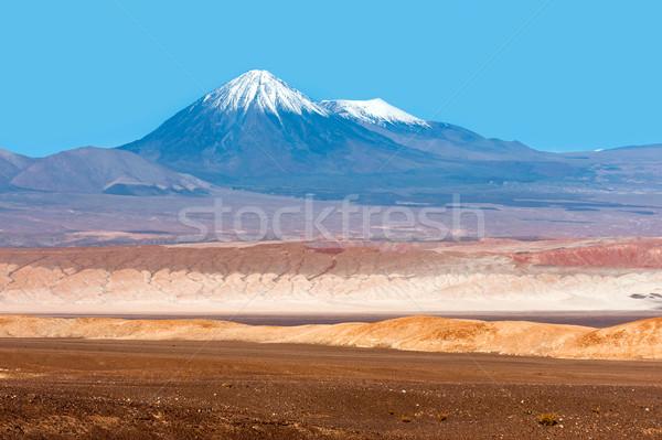 Hold völgy Chile természet sivatag hegy Stock fotó © xura