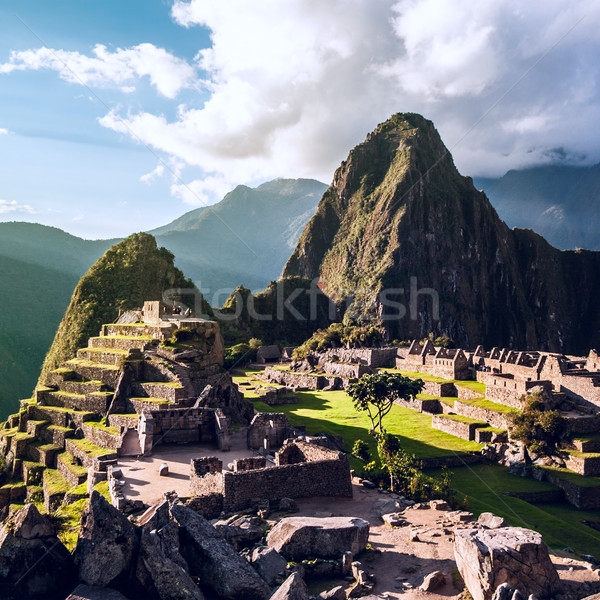 Machu Picchu, Andes, Sacred Valley, Peru Stock photo © xura