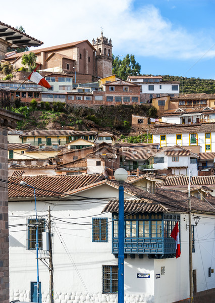 City of Cuzco in Peru, South America Stock photo © xura