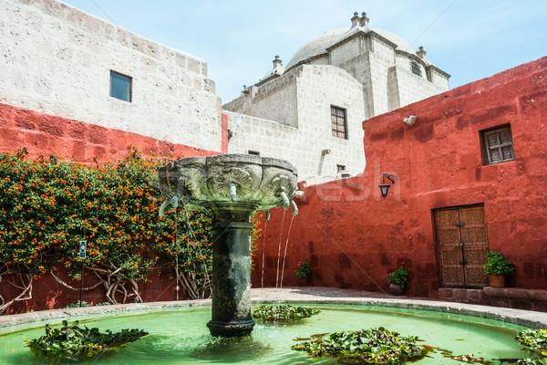 Santa Catalina Monastery, Arequipa, Peru Stock photo © xura