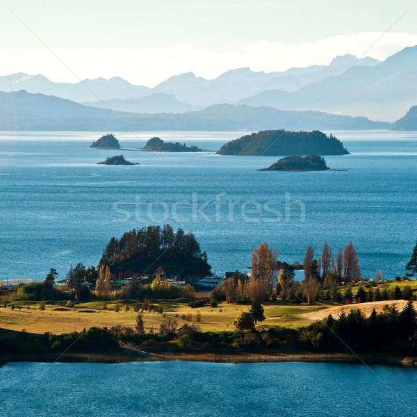 Nahuel Huapi lake, Patagonia Argentina, from Panoramic Point nea Stock photo © xura
