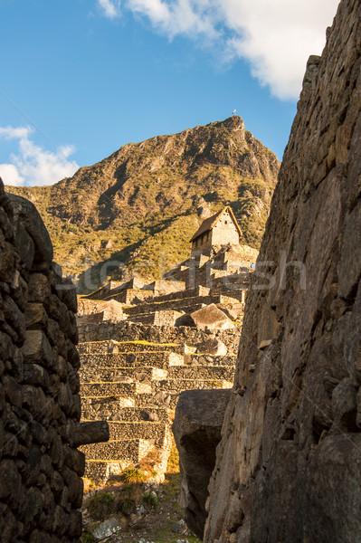 Machu Picchu vadi Peru manzara dağ Stok fotoğraf © xura