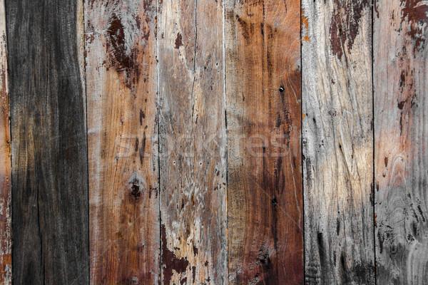 wood pannel background Stock photo © yanukit