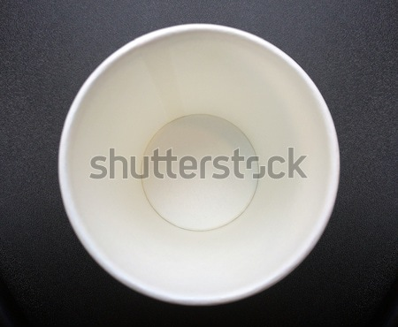empty recycle paper cup Stock photo © yanukit