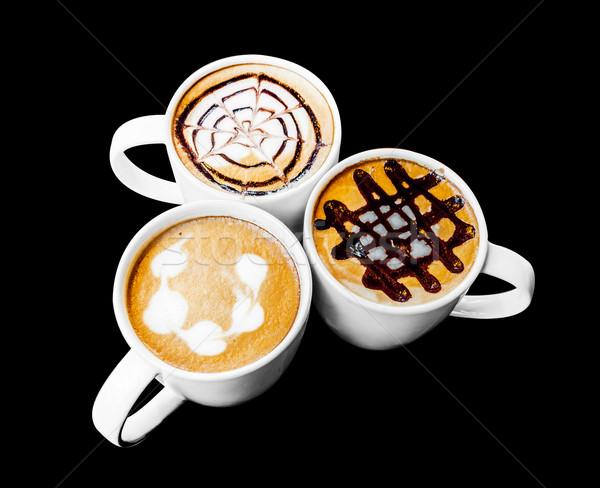 искусства дизайна кружка керамической кофе Сток-фото © yanukit