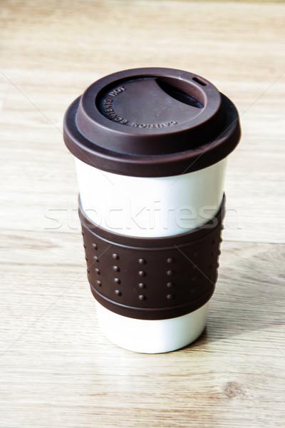 чашку кофе кофе пить Сток-фото © yanukit