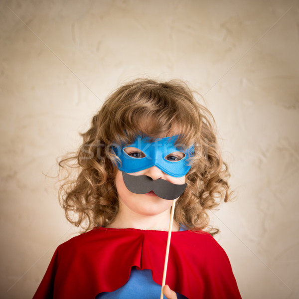 Superhero hipster kid Stock photo © Yaruta