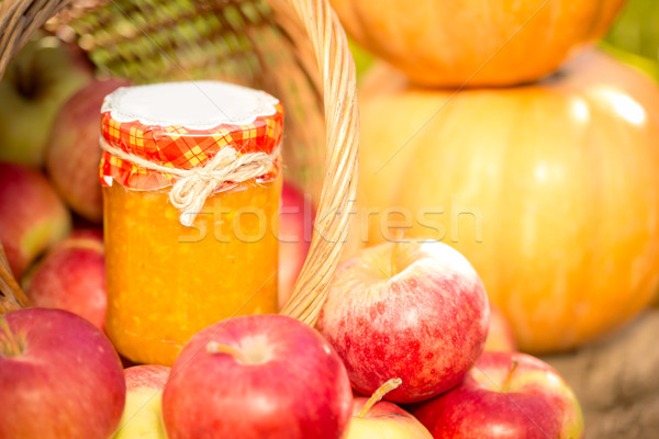 Fruits and vegetables in autumn Stock photo © Yaruta