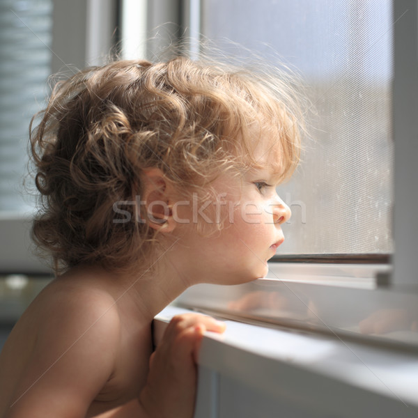 Sad child Stock photo © Yaruta