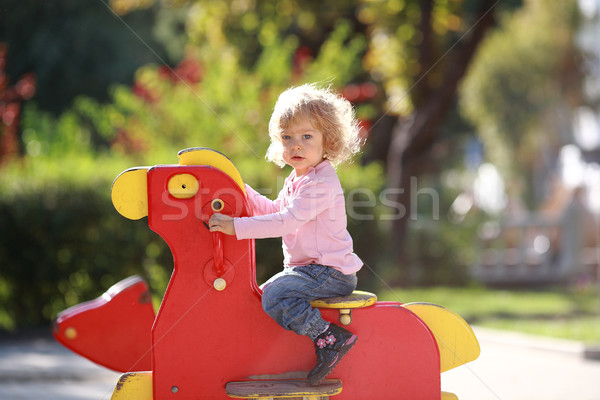 Rocking horse Stock photo © Yaruta