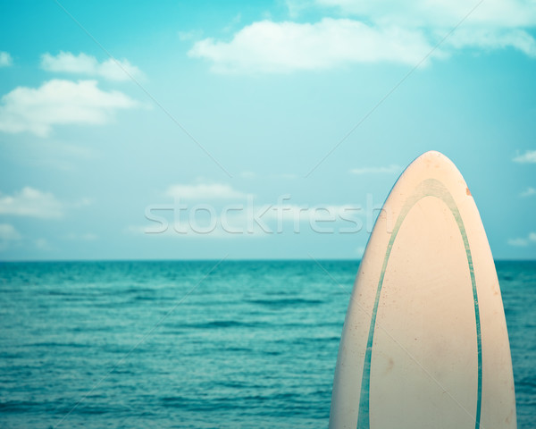 Surfboard. Dead calm Stock photo © Yaruta