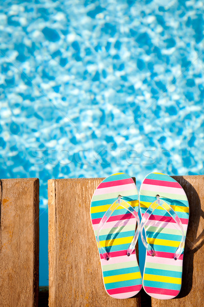 Stock photo: Concept image of summer holidays