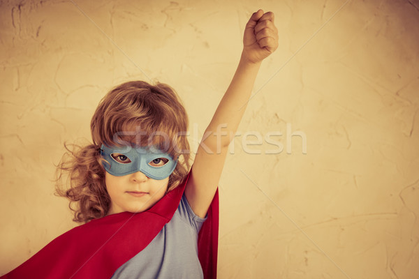 Superhero kid Stock photo © Yaruta