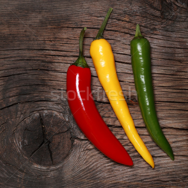 Hot chili peppers Stock photo © Yaruta