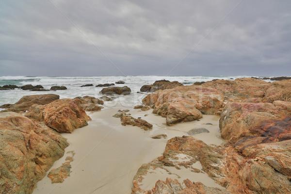 Asilomar State Beach, Monterey Peninsula, Central California Stock photo © yhelfman