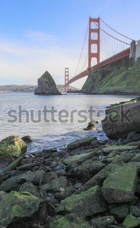 ゴールデンゲートブリッジ 砦 パン カリフォルニア 米国 風景 ストックフォト © yhelfman