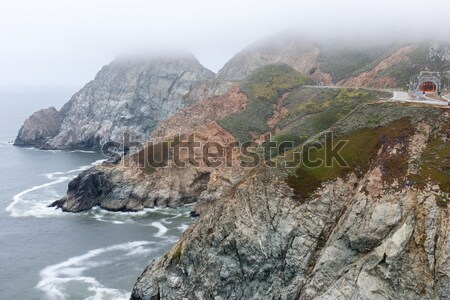 Devil's Slide In Fog Stock photo © yhelfman