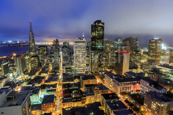 San Francisco City Lights Stock photo © yhelfman