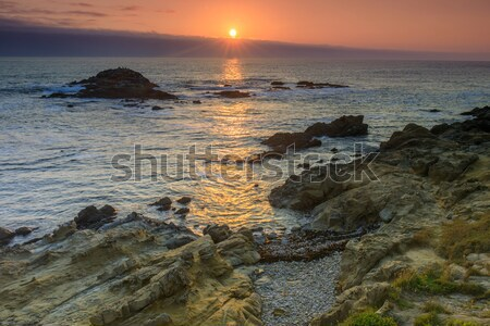 Bean Hollow State Beach Sunset. Stock photo © yhelfman
