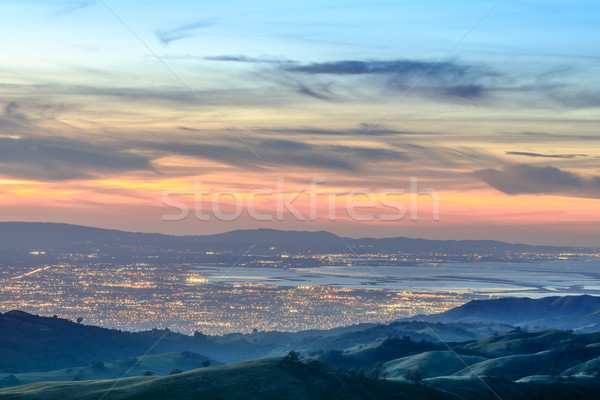 Silicon Valley Views from above Stock photo © yhelfman