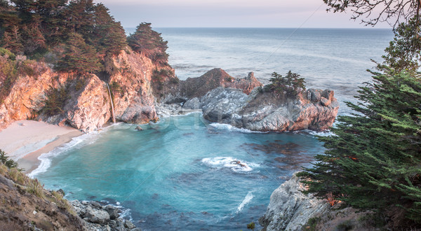 McWay Falls, Julia Pfeiffer Burns State Park, Big Sur, California, USA Stock photo © yhelfman
