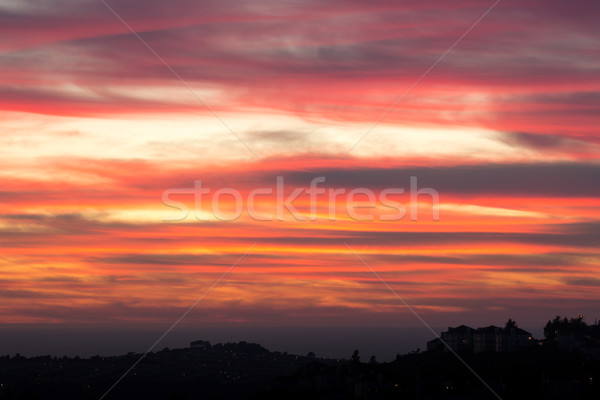 Pastel Sunset Stock photo © yhelfman