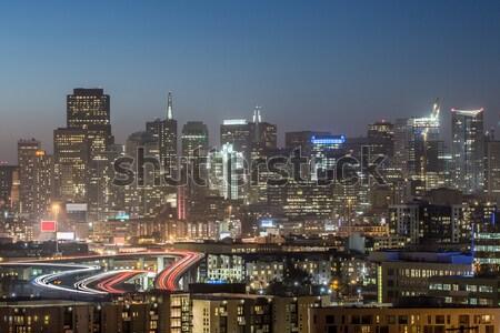 Highway to San Francisco Stock photo © yhelfman
