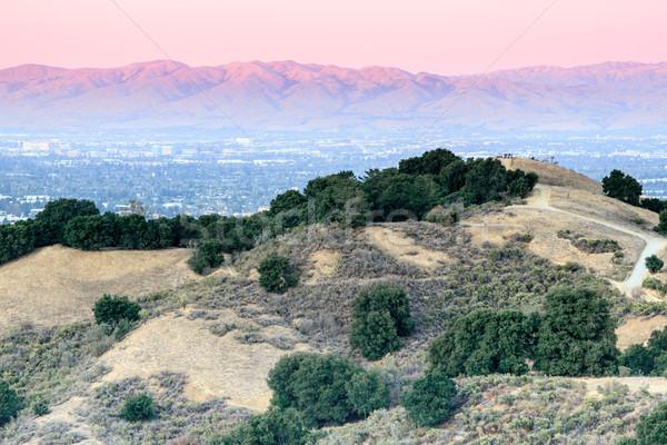 Stock photo: Bay Area Sunset Views.