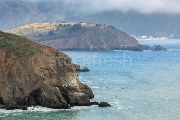 Mori Point in Fog Stock photo © yhelfman