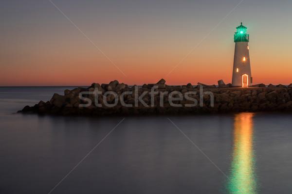 灯台 サンタクロース カリフォルニア 米国 自然 ストックフォト © yhelfman