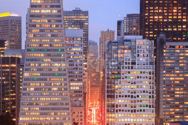 Сан-Франциско центра детали Финансовый район холме исторический Сток-фото © yhelfman