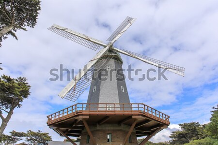 Murphy Windmill (South Windmill) in the Golden Gate Park in San Francisco, California, USA. Stock photo © yhelfman