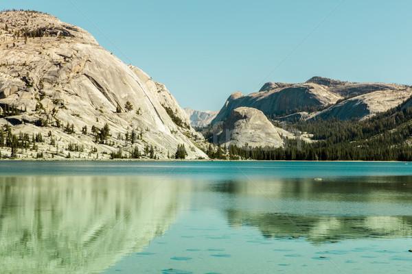 湖 ヨセミテ国立公園 カリフォルニア 米国 山 ストックフォト © yhelfman