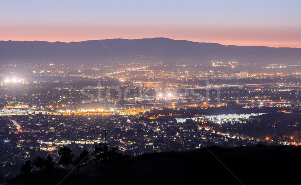 Silicon Valley Lights. Stock photo © yhelfman