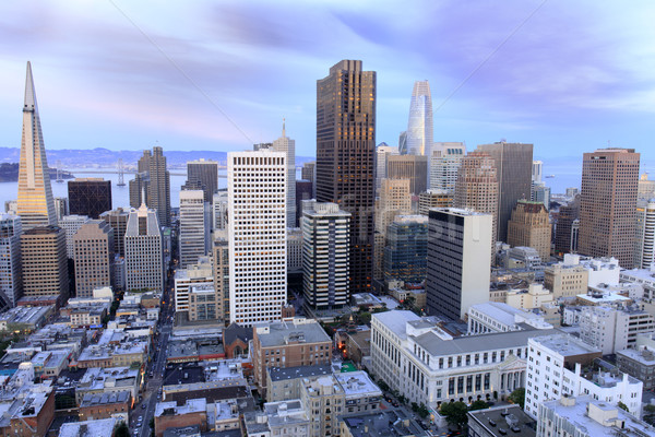 San Francisco Financial District view from above. Stock photo © yhelfman