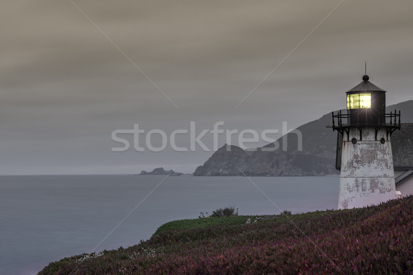 Point Montara Lighthouse at Dusk. Stock photo © yhelfman