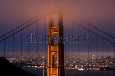 Golden Gate Bridge San Francisco Califórnia EUA icônico Foto stock © yhelfman