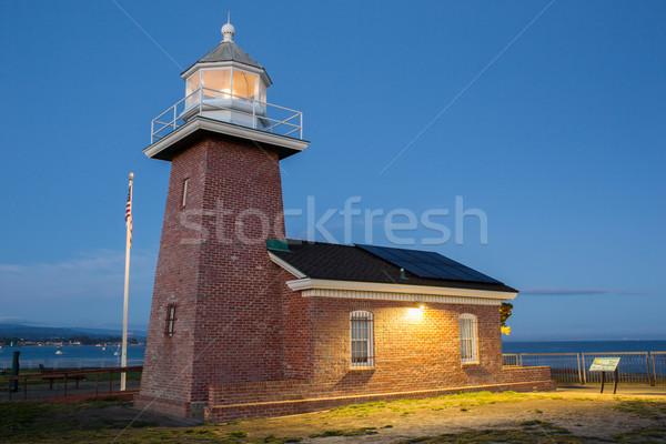 Lighthouse Field State Beach, Santa Cruz, California Stock photo © yhelfman